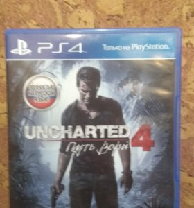 Игра Uncharted 4 Путь Вора