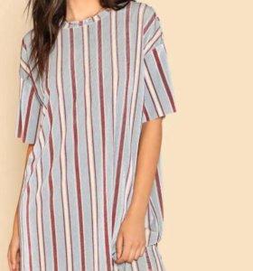Новое платье в полоску