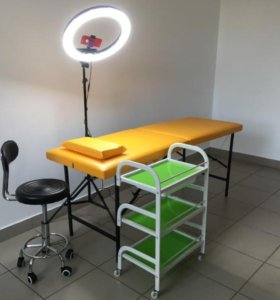 Комплект косметолога (кушетка,тележка,стул)