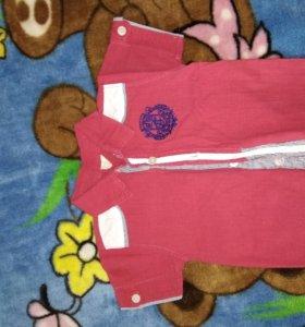 Рубашка льняное, детская