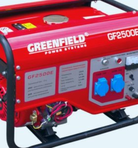 Генератор бензиновый GREENFILD GF2500E