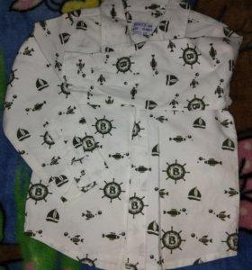 Рубашка детская, 100%хлопок