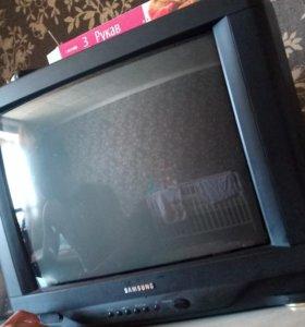 Телевизор samsung рабочий цветной