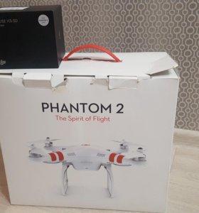 DJI phantom 2 + zenmuse H3-3D + GoPro hero 3+ blac