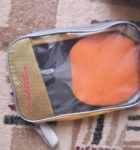 Ракетка для настольного тенниса с сумкой