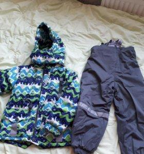 Костюм куртка и комбинезон весенний