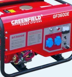 Генератор бензиновый GREENFILD GF3600E