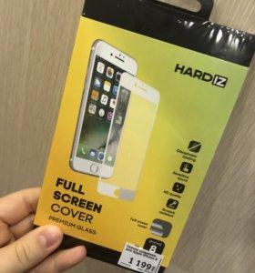 Бронь стекло для IPhone 8