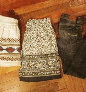 Юбки и джинсы