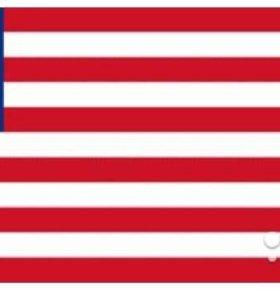 Флаг Либерии 1.5 х 2.3 м новый