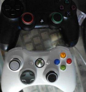 Sony Playstation, Xbox 360, триггеры