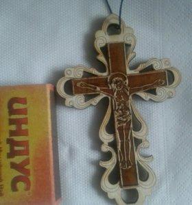 Крест берестянной