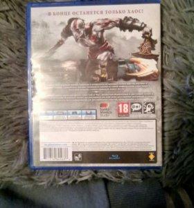 Игра для PS4 God of War 3 REMASTERED