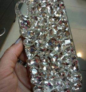 Новая в упаковке задняя крышка для телефона HTC830