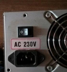 Блок питания для компьютера 230 W