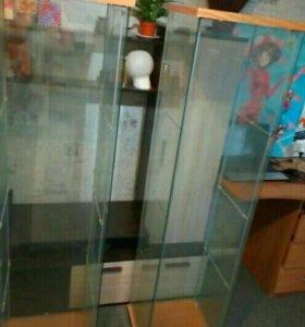 Шкаф\витрина
