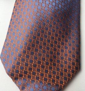 Шелковый галстук Donatto (новый, в упаковке)