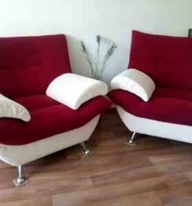 *СРОЧНО! *Два новеньких кресла.