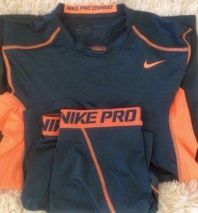 Шорты и футболка Nike pro combat Dri-FIT