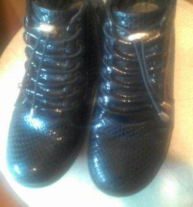Ботиночки темносиние