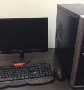 Компьютер для Танков, Dota и т.д. + монитор