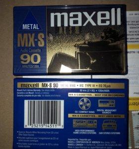 Аудиокассеты Maxell MX-S 90 Япония