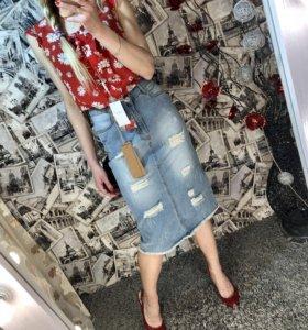 Юбка джинсовая TFG