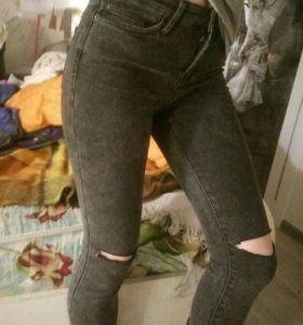 Юбка и джинсы s-xs