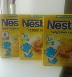 Каша Nestle безмолочная