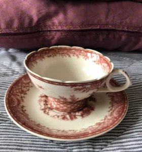 Чайна пара и корзинки для сладостей