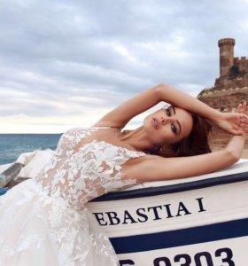 Новое европейское свадебное платье