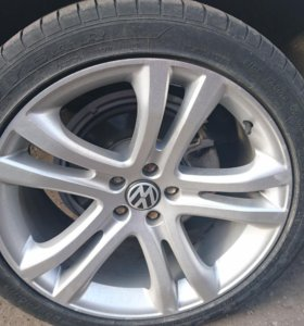 Колеса VW, Audi, Skoda r19 ET33  б/у
