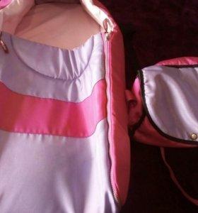 Сумка переноска и сумка для мамы.
