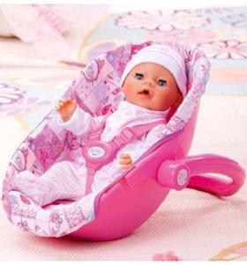 Автокресло-переноска Baby born