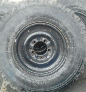 Колеса на уаз комплект за 5000р