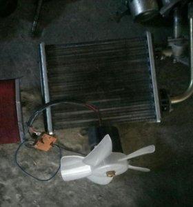 Печной радиоатор ваз 2106