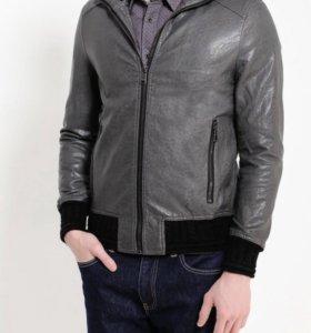Новая Куртка кожаная Gianni Lupo