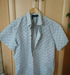 Рубашка Finn Flare хлопок, в отличном состоянии