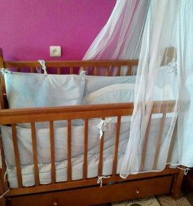 Продается детс кровать маятник
