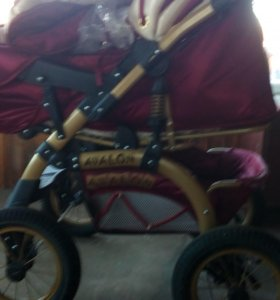 прогулочная коляска зима-лето