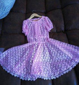 Продам платье со шлейфом