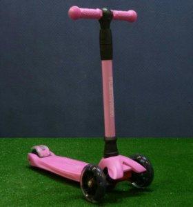 Самокат Playshion розовый