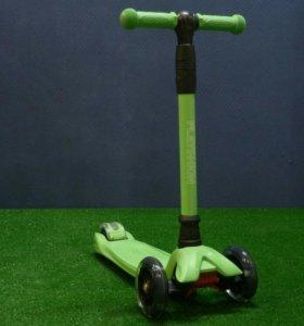 Самокат Playshion зеленый
