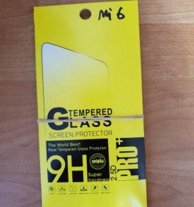 Стекло на Xiaomi MI6