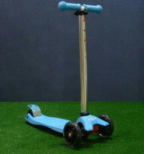 Самокат Playshion Maxi синий