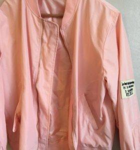 Новая куртка-бомбер