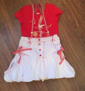 Новый костюм для девочки