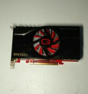 Видеокарта Gainward GTX 550 TI