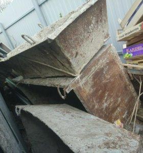 Бадья для бетона раствора