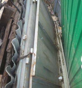 Ворота металлические гараж